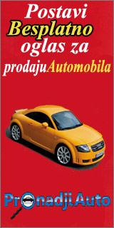 Besplatni oglasi za prodaju automobila